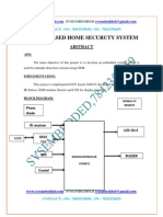 7.Gsm Based Home Securuty System