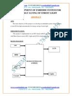 17.Development of Embedde System for Energy Saving of Street Light