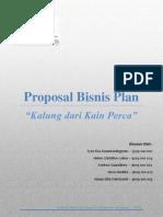 Proposal Business Plan Hijab Lukis
