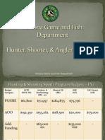 Arizona Hunter, Shooter and Angler Programs - 2011