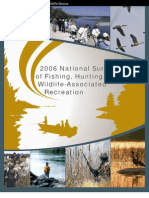 USFWS - 2006 National Survey of Fishing, Hunting, and Wildlife-Associated Recreation