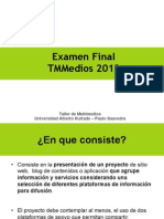 Examen Final TMMedios 2012