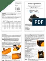 Einbauanleitung Kurzform HAWLE Neu Stand 10.06.05