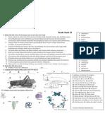 Soal-soal Final Zooinvertebrata 2012 Materi (Anthropoda and Echinodermata) Kode D
