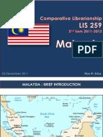 Comparative Librarianship.malaysia