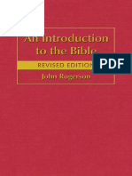 An Introduction to the Bible Rogerson