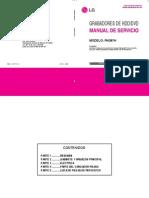 LG RH387H Combo DVD HDD Service Manual