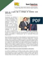 Diego Olivera-Golpe en Paraguay Bajo La Estrategia de Modalidad