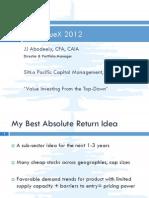 ValueXVail 2012 - JJ Abodeely