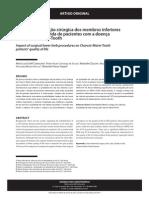 Impacto da correção cirúrgica dos membros inferiores na qualidade de vida de pacientes com a doença de Charcot-Marie-Tooth