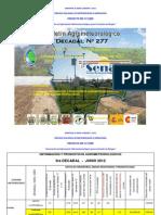 3er Decadal Nro. 277-Junio 2012-Valles-La Paz Centro, Cochabamba Sucre, Tarija, Valle Grande