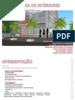 ARQUITETURA DE INTERIORES - ESCRITÓRIO