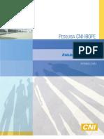 Pesquisa CNI-IBOPE Avaliação do Governo Junho 2012