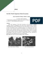 World Comparison of Karst Ecosystems