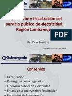 Supervision Fiscalizacion Servicio Publico Electricidad RegionLambayeque