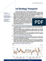 Economic and Strategy Schroder Invt Mngt