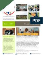 Newsletter 2012 Summer