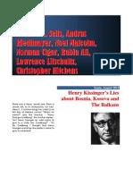 Henry Kissinger vs. Bosnia & Kosovo