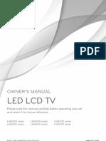 LG LED LCD TV