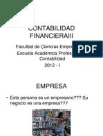 Contabilidad Financiera III - Sesion 01