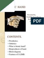 Bionic Hand Nw