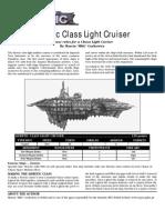 Heretic Class Light Cruiser