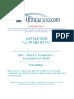 005 - Moda y Accesorios - Accesorios de Vestir - Bordados - UT