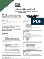 Random Force Generator 2- Orks