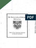 Dodd - History and the Gospel (1938)