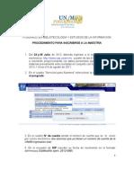 Manual de Inscripción para aspirante de Maestría Presencial