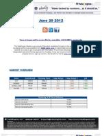 ValuEngine Weekly Newsletter June 29, 2012