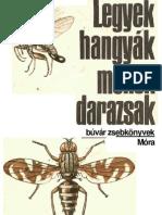 Buvar Zsebkonyvek - Legyek,Hangyak,Mehek,Darazsak (1974)