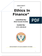 24016417 Ethics in Finance