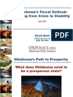 Oklahoma's Fiscal Outlook (June 2012)