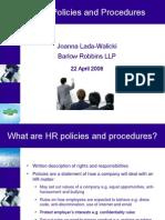 Hr Policies and Procedures