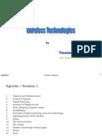 Wireless Technologies Part-1