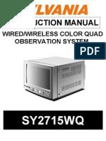 SY2715WQ Instruction Manual