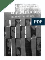 Interpreting the Miracles (1963) Reginard H. Fuller