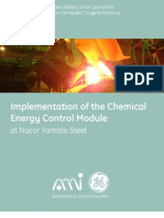 Implementation of the Chemical Energy Control Module at Nucor Yamato Steel EAF2