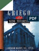 23837361 Griego Del Nuevo Testamento Para Principiantes J Gresham Machen