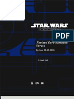 Star Wars RPG Book Errata 2006
