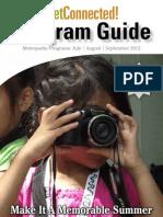 July, August, September 2012 Program Guide