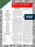 Journal de Paul n° 1