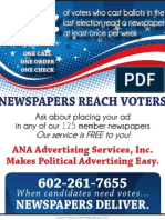 Newspapers Reach Voters