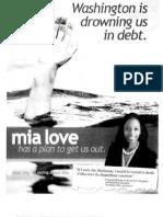 Mia Love's federal budget cuts proposal