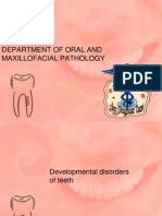 Developmental Disorders of Teeth