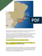 Petroleo en Brasil y Urugay