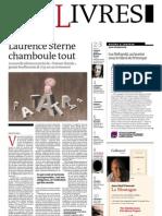Supplément Le Monde des livres 2012.06.29