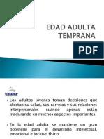 Edad Adulta Temprana, Intermedia y Tardia