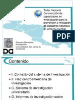 Mitigar Desastres en America Central